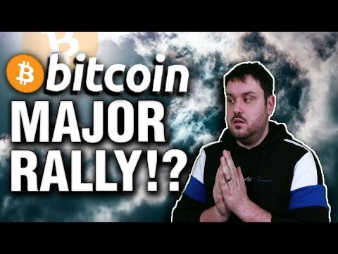 Imminent Major Rally For Bitcoin!?