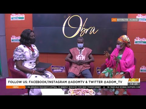 Woman forbids child not to use his real surname - Obra on Adom TV (2-8-21)