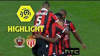 OGC Nice - AS Monaco (4-0) - Highlights - (OGCN - ASM) / 2016-17