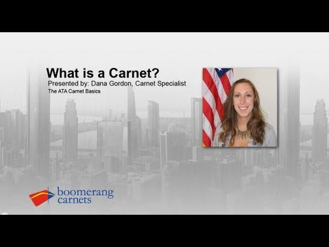 What Is A Carnet?