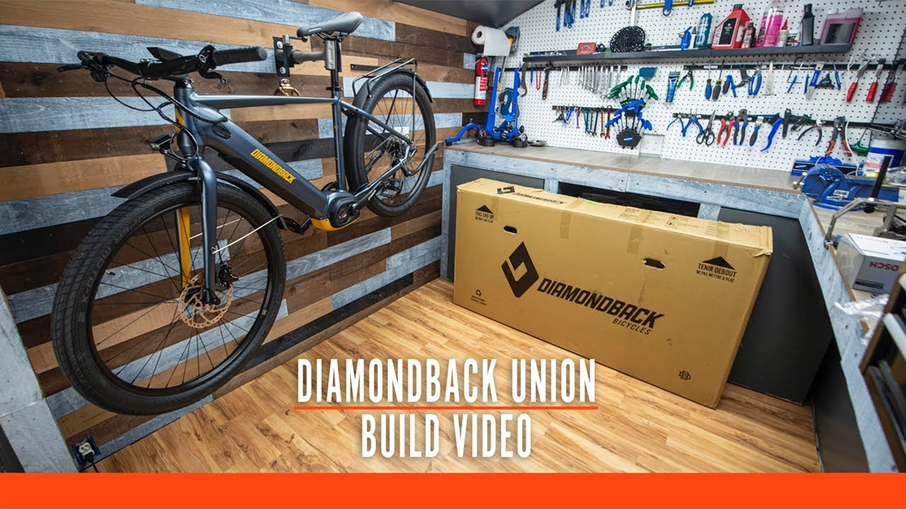 Unboxing the Union 2 Electric Bike
