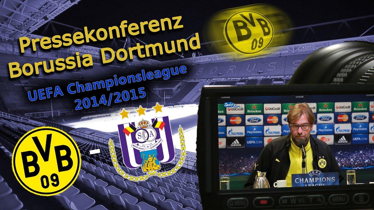 PK UEFA Champions-League : Borussia Dortmund - RSC Anderlecht : Jürgen Klopp & Marcel Schmelzer