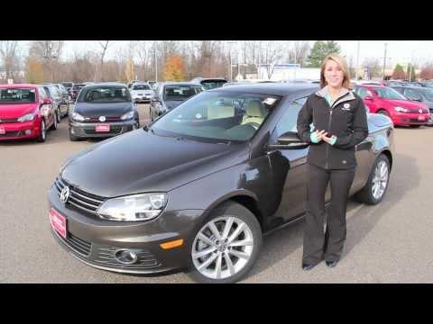 Top Down in the 2014 VW Eos Hardtop Convertable Burlington, VT