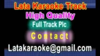 Tere Naina Kyun Bhar Aaye {Female} Karaoke Geet {1970} Lata Mangeshkar