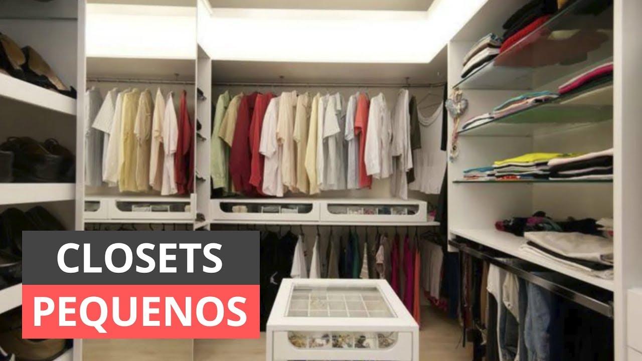 Modelos de closets pequenos para se inspirar youtube for Modelos de zapateras en closet