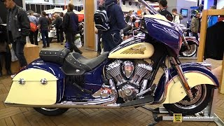 2015 Indian Chieftain - Walkaround - 2015 Salon Moto de Montreal
