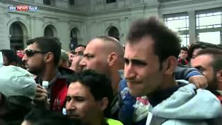 هنغاريا تعلق رحلات القطار الدولية أمام اللاجئين