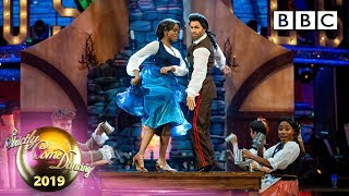 Kelvin and Oti American Smooth to Gaston - Week 11 Musicals | BBC Strictly 2019