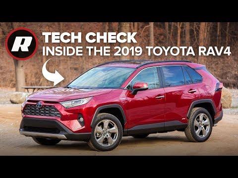 Tech Check: 2019 Toyota RAV4 Hybrid | Amazon Alexa Capable