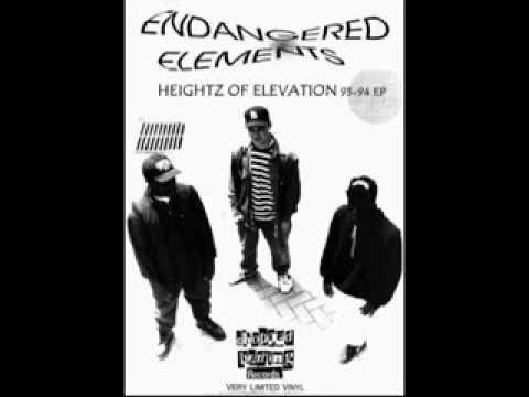 ENDANGERED ELEMENTS/HEIGHTZ OF ELEVATION 93-94 EP *LIMITED VINYL* CHOPPED HERRING