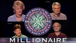 Who Wants To Be A Millionaire? | All Million Pound Questions