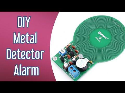 DIY Metal detector alarm