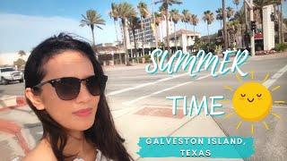 TRAVEL VLOG | PART 2 SUMMER TIME IN GALVESTON ISLAND, TEXAS
