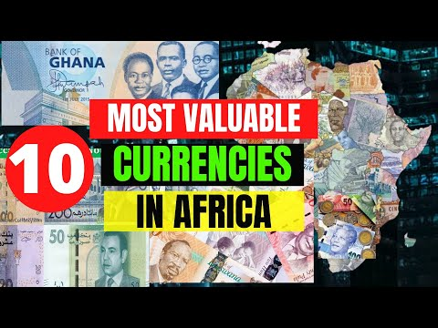 10 Most Valuable Currencies In Africa 2020