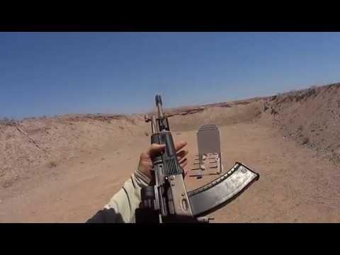 5.45x39mm interior wall penetration test (short)