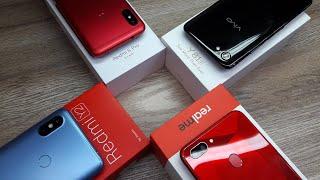 Vivo Y81i vs Realme 2 vs Redmi 6 Pro vs Redmi Y2 - Which Should You Buy ?
