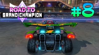 Как я апался до All Star'a | Road To Grand Champion #8 | Rocket League