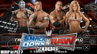 Gambar cover Cara Download Game WWE SmackDown VS RAW 2008 Featuring ECW PPSSPP Android