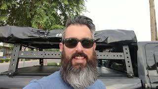 "Awesome KB VooDoo Max Modular SL 70"" Ram Power Wagon Bed Rack Installation"