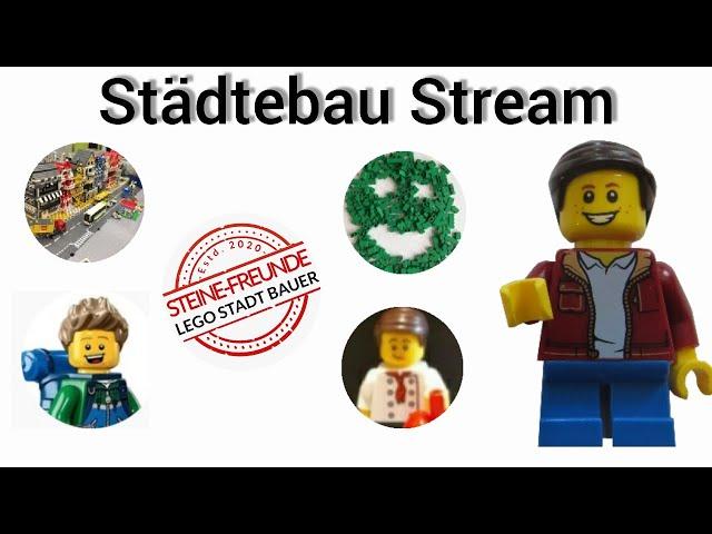 Lego Städtebau Stream