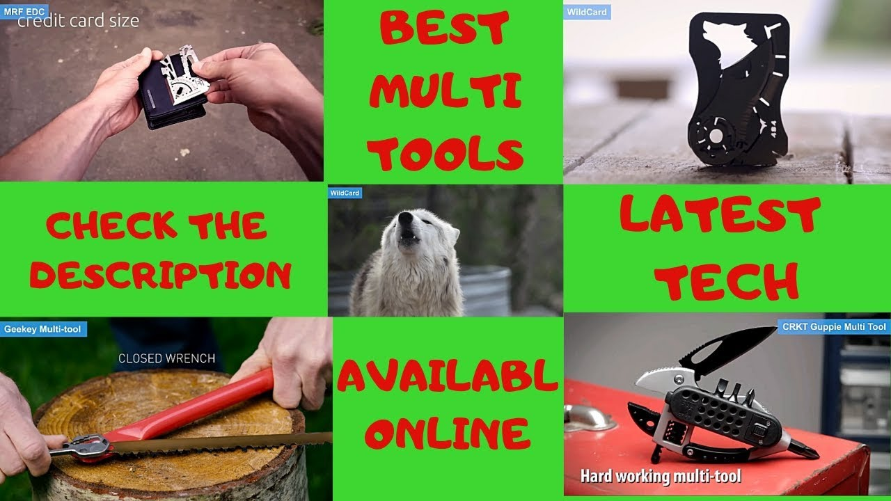 Best Multi Tool 2020 BEST MULTI TOOL YOU MUST HAVE (LATEST) 2020   YouTube