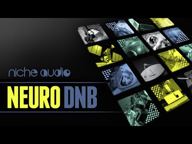 Neuro DNB Maschine Expansion & Ableton Live Pack - From Niche Audio #1