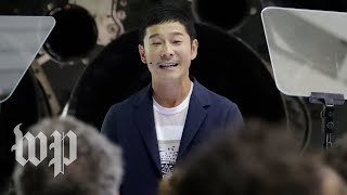 'This is my lifelong dream': Japanese billionaire aims to fly to the moon