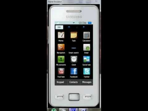 samsung gt-s5260 themes