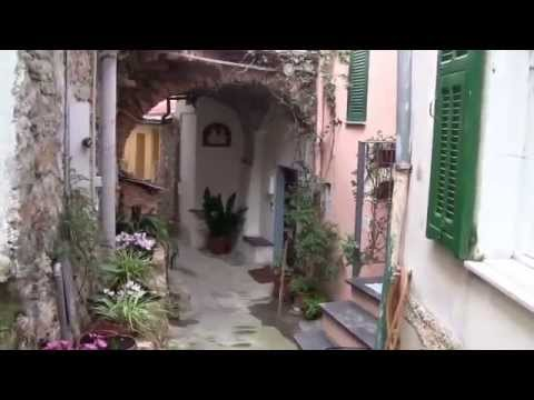 Dolcedo and Valloria Door Paintings - Italy Riviera 2014