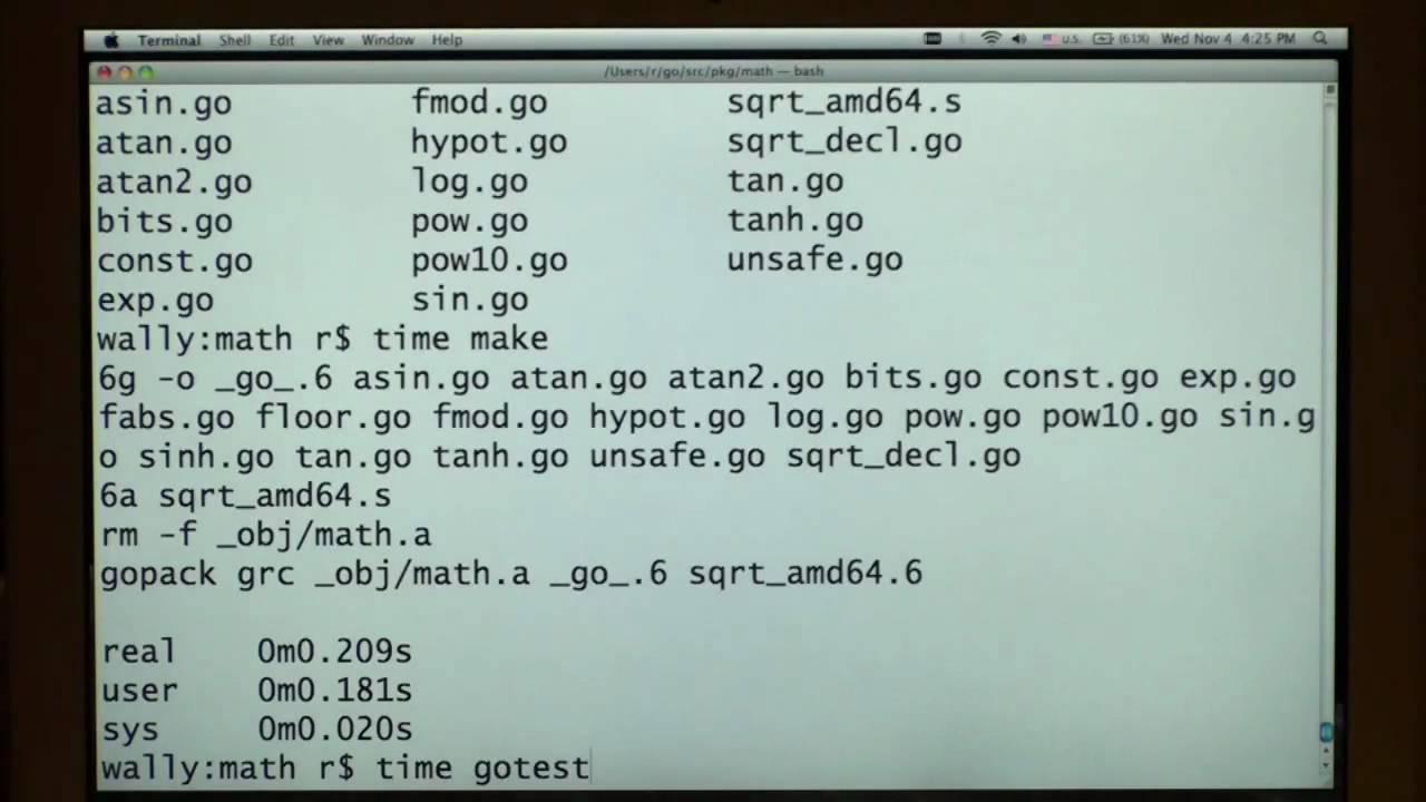 The Go Programming Language Promo - YouTube