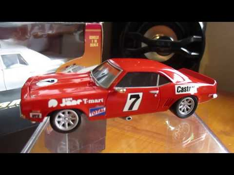ARMCO MODEL BOB JANE 1971 CAMARO ZL1 ATCC 1/43 RESIN RACE CAR.