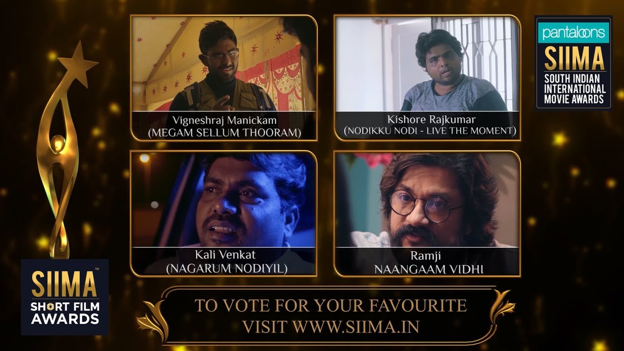 SIIMA Short Film Awards 2019 | Best Actor in a Supporting Role Nominees |  Tamil
