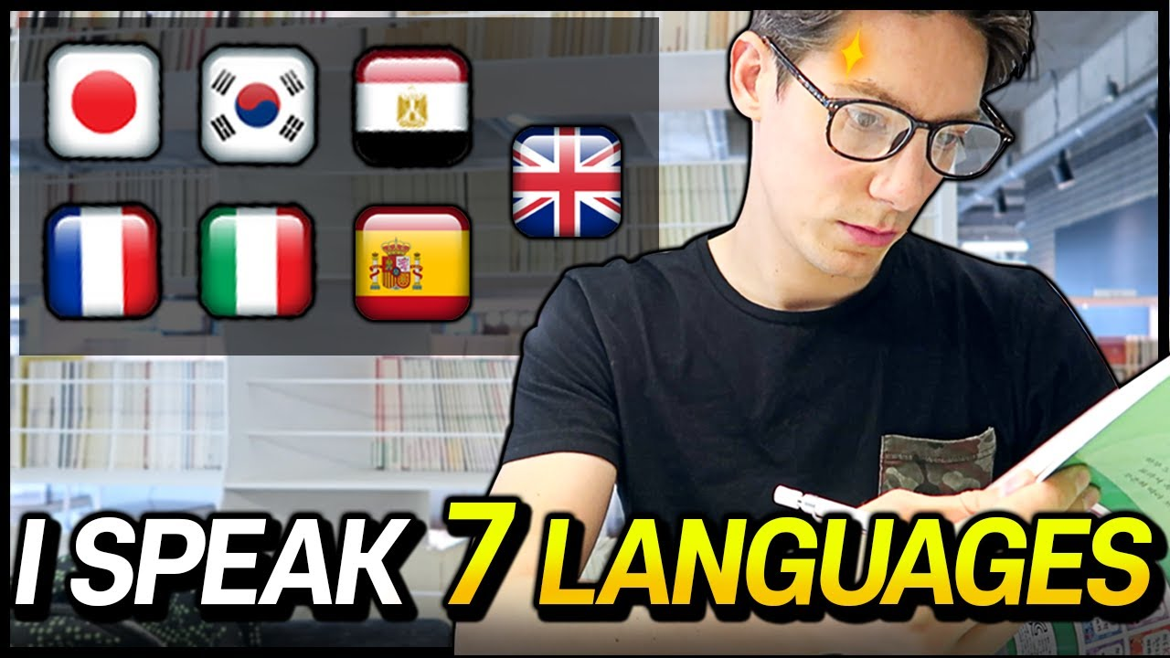 POLYGLOT Speaking in 7 languages : How I learned them  | With ENG Subtitles