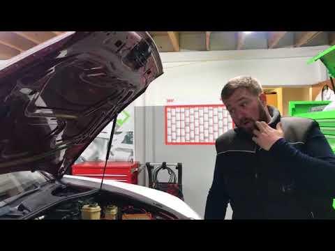 C7 Audi RS6  engine failure, injector bench test, ADS workshop diagnostics