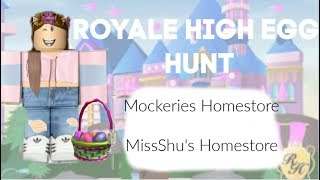 Roblox | Royale High Egg Hunt | Miss Shu's & Mockeries Homestore
