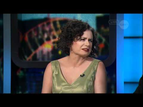 Judith Lucy on The Project (2012) - Nothing fancy