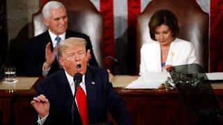 Скачать U S President Donald Trump Delivers Third State Of The Union Address