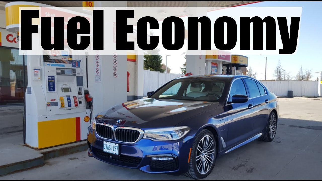2019 bmw 5-series  530e  - fuel economy mpg review   fill up costs