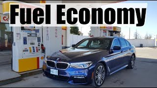 2019 BMW 5-Series (530e) - Fuel Economy MPG Review + Fill Up Costs