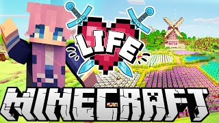 Flower Fields | Ep. 4 | Minecraft X Life SMP