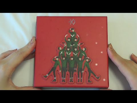 Unboxing EXO 엑소 Special Winter Album Miracles in December (Chinese Version)