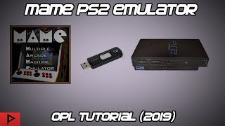 mAME Emulator PS2 OPL Tutorial (2019)
