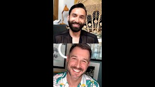 """Conchita wurst is producing his own live talkshow """"five@five"""" on instagram weekdays at 5pm cet, providing fans with a daily dose of entertainment and chanc..."""