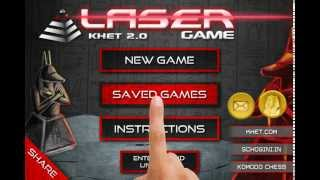 KHET - The Award Winning Laser Game: Khet 2.0 with Artificial Intelligence Engine by Don Dailey!