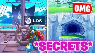 TOP 9 Season 8 *SECRETS* that NO! | Fortnite Season 8