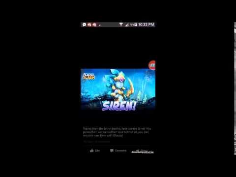 Castle Clash - New Shard Hero Siren - Facebook