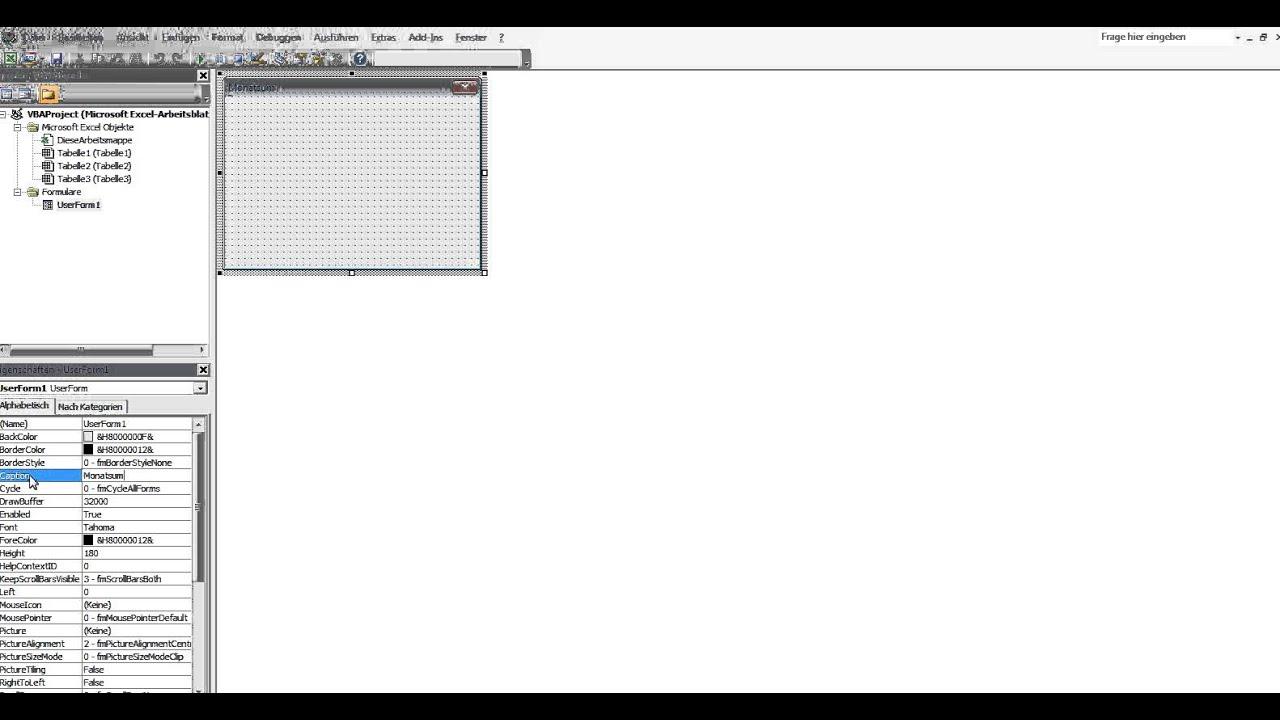 4ES_Eine Eingabemaske (UserForm) in Excel VBA erstellen und ...