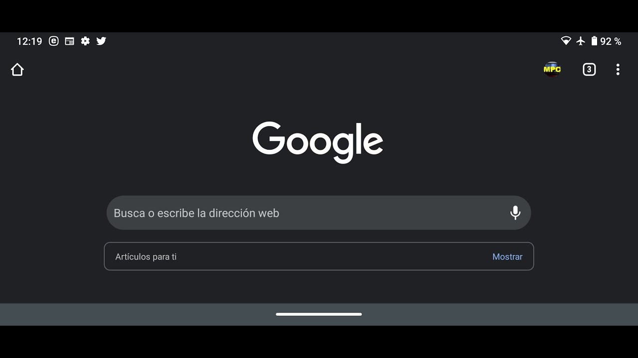 Activar Modo Oscuro Google Chrome