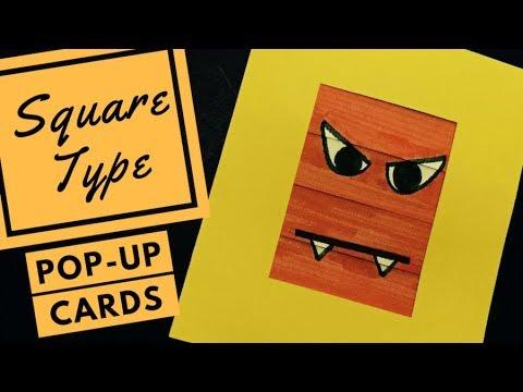 Demo Pop-up Card - (Easy) Blinds