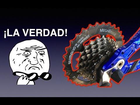 La verdad de las velocidades de la bicicleta